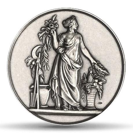 (FMED.Méd.MdP.Ag.100102367700P0) Médaille argent - Pomone Avers