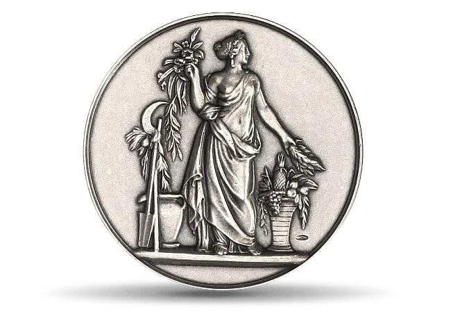 (FMED.Méd.MdP.Ag.100102367700P0) Silver medal - Nymph Pomona Obverse (zoom)