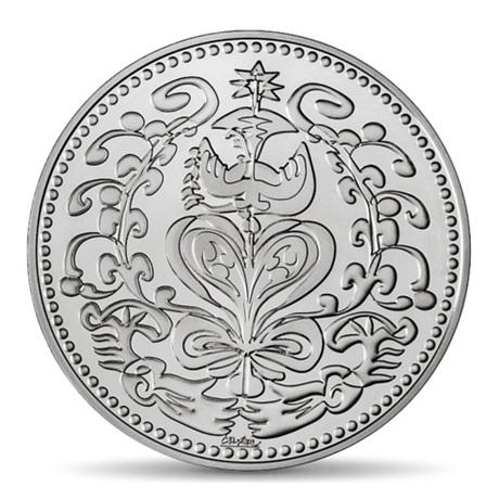 (FMED.Méd.MdP.Ag.100112713000B0) Médaille argent - Mariage, par Christian Lacroix Avers