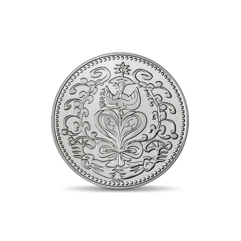 (FMED.Méd.MdP.Ag.100112713000B0) Silver medal - Wedding, by Christian Lacroix Obverse (zoom)