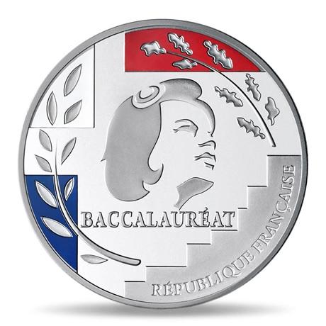 (FMED.Méd.MdP.Ag.100112734000B0) Médaille argent - Baccalauréat Avers