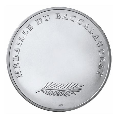 (FMED.Méd.MdP.Ag.100112734000B0) Médaille argent - Baccalauréat Revers