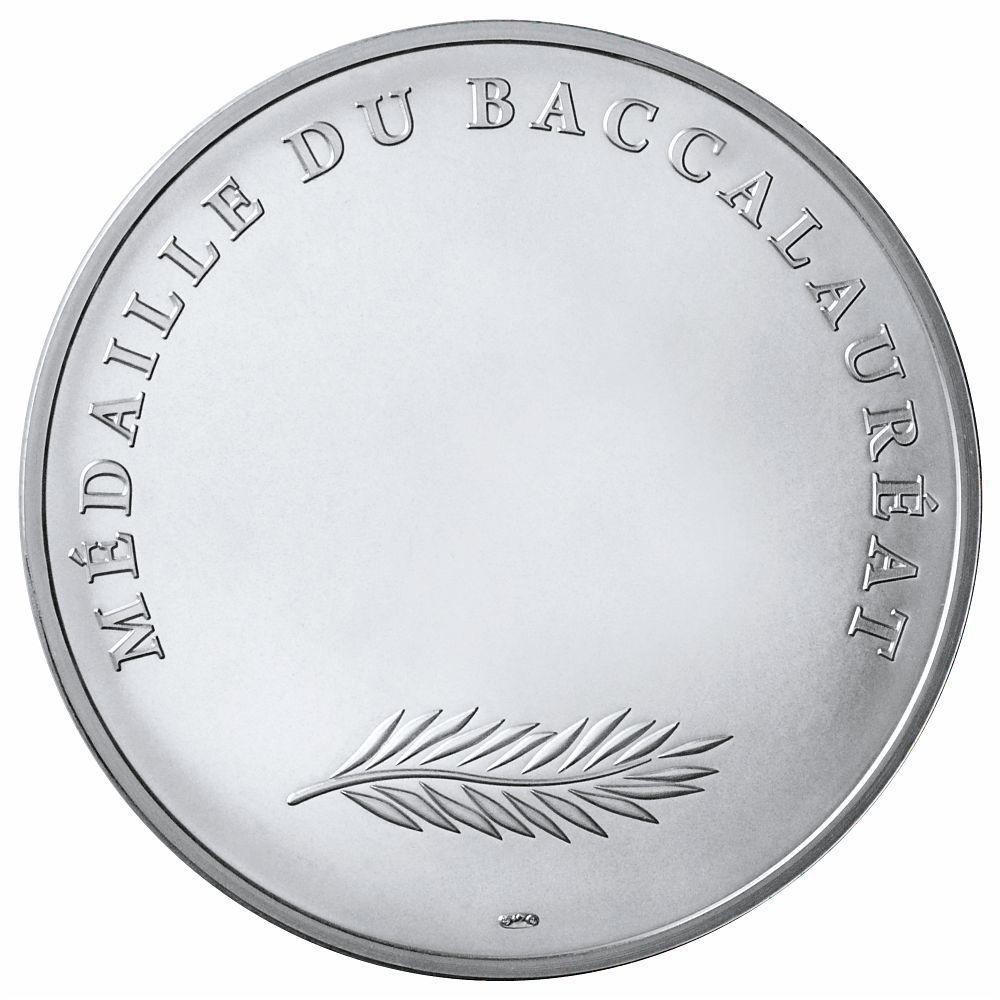 (FMED.Méd.MdP.Ag.100112734000B0) Silver medal - Bachelor medal Reverse (zoom)