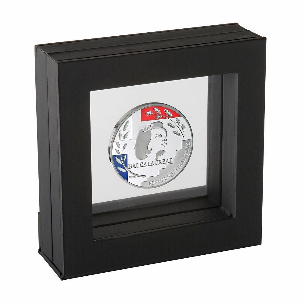(FMED.Méd.MdP.Ag.100112734000B0) Silver medal - Bachelor medal (display) Front (zoom)