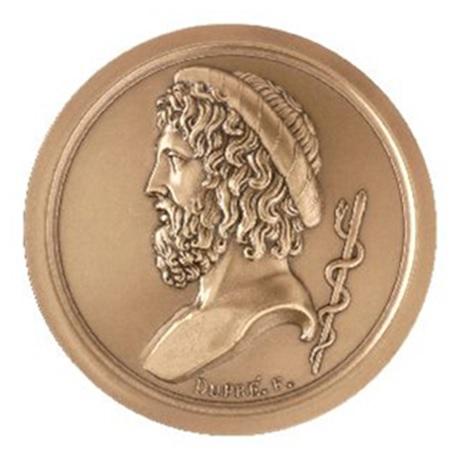 (FMED.Méd.MdP.CuSn.100110468800P0) Médaille bronze - Esculape Avers