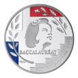 Médaille argent - Médaille du baccalauréat Avers