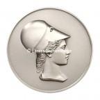 Médaille argent - Tête de Minerve, par Alphée Dubois - avers