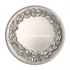 Médaille argent - Tête de Minerve, par Alphée Dubois - revers