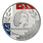 Médaille argentan - Médaille du baccalauréat Avers
