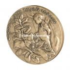 Médaille bronze - A l'enfance - avers