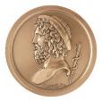 Médaille bronze - Esculape Avers