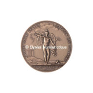 Médaille bronze - Franklin - revers