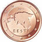 1 cent Estonie 2011