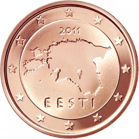 2 cent Estonie 2011