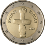 2 euro Chypre 2008