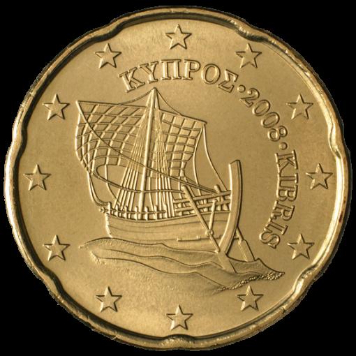 20 cent Chypre 2008
