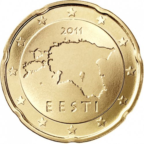 20 cent Estonie 2011