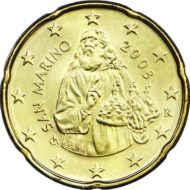 20 cent Saint Marin 2008