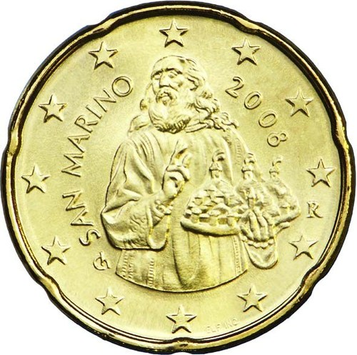20 cent Saint Marin 2008