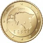 50 cent Estonie 2011