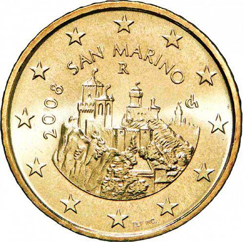 50 cent Saint Marin 2008