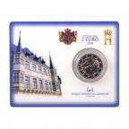 Coin card 2 euro commémorative Luxembourg 2008 BU - Château de Colmar-Berg