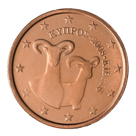 (EUR04.002.2008.0) 2 cent Chypre 2008 Avers