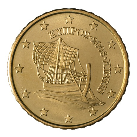 (EUR04.010.2008.0) 10 cent Chypre 2008 Avers