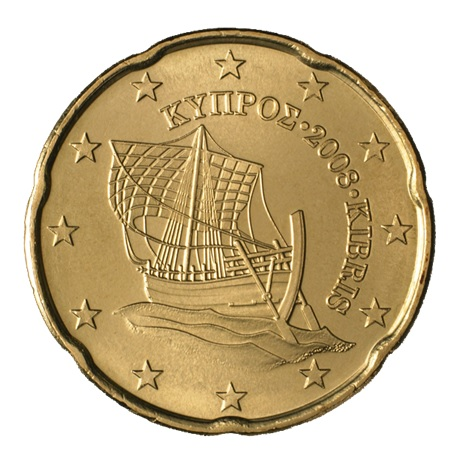(EUR04.020.2008.0) 20 cent Chypre 2008 Avers