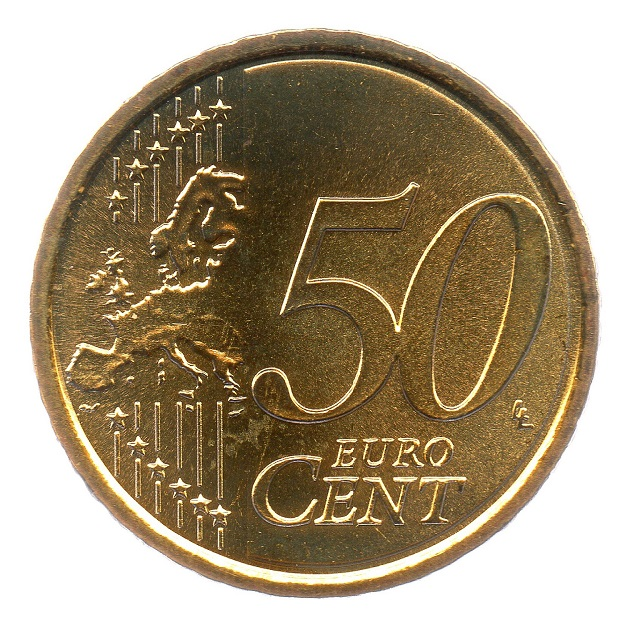(EUR18.050.2008.0.spl.000000001) 50 cent San Marino 2008 - San Marino Fortress Reverse (zoom)