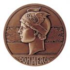 Médaille bronze - Le commerce Avers
