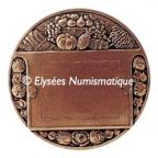 Médaille bronze - Le commerce Revers