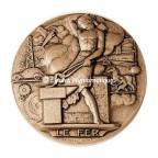 Médaille bronze - Le fer