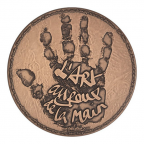 Médaille bronze - L'Art au creux de la main, par Christian Lacroix Avers