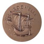 Médaille bronze - La Rochelle Avers