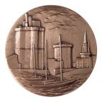 Médaille bronze - La Rochelle Revers