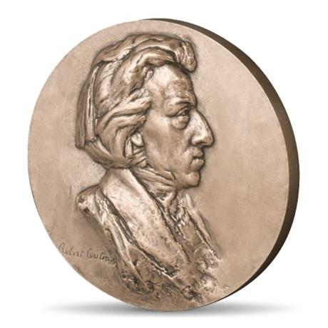 (FMED.Méd.MdP.CuSn.100100355700P0) Médaille bronze - Frédéric Chopin Avers