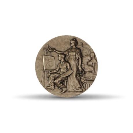 (FMED.Méd.MdP.CuSn.100100555300P0) Médaille bronze - Dessin Avers