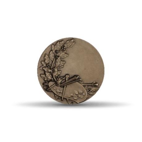(FMED.Méd.MdP.CuSn.100100555300P0) Médaille bronze - Dessin Revers
