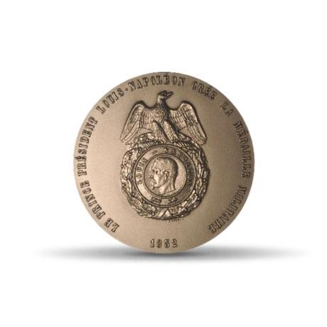 (FMED.Méd.MdP.CuSn.100100703800P0) Médaille bronze - Création de la médaille militaire Avers