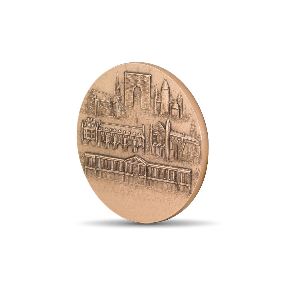 (FMED.Méd.MdP.CuSn.100100756200P0) Bronze medal - France with the Sower Reverse (zoom)
