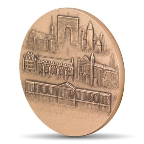(FMED.Méd.MdP.CuSn.100100756200P0) Médaille bronze - France à la Semeuse Revers