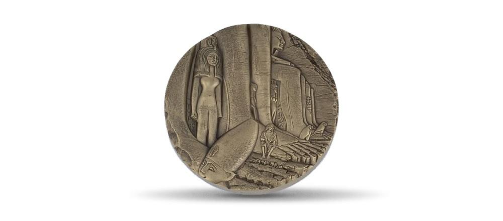 (FMED.Méd.MdP.CuSn.100110813700P0) Bronze medal - Egypte, by Thérèse Dufresne Obverse (zoom)