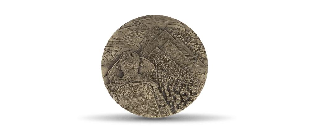 (FMED.Méd.MdP.CuSn.100110813700P0) Bronze medal - Egypte, by Thérèse Dufresne Reverse (zoom)