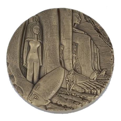 (FMED.Méd.MdP.CuSn.100110813700P0) Médaille bronze - Egypte, par Thérèse Dufresne Avers