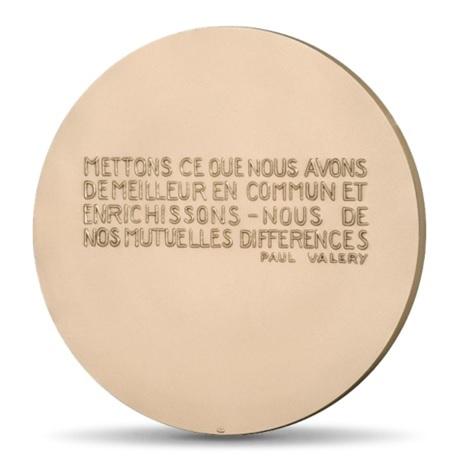 (FMED.Méd.MdP.CuSn.100111215400P0) Médaille bronze - Echange Revers