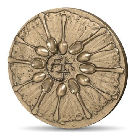 (FMED.Méd.MdP.CuSn.100112278200P0) Médaille bronze - Dali par lui-même Revers