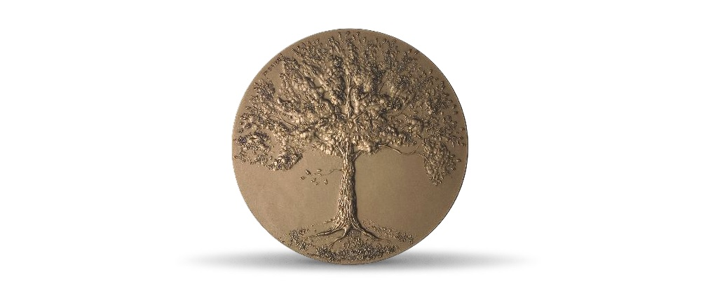 (FMED.Méd.MdP.CuZn.100111181800P0) Bronze medal - De l'arbre, by Gassier Obverse (zoom)