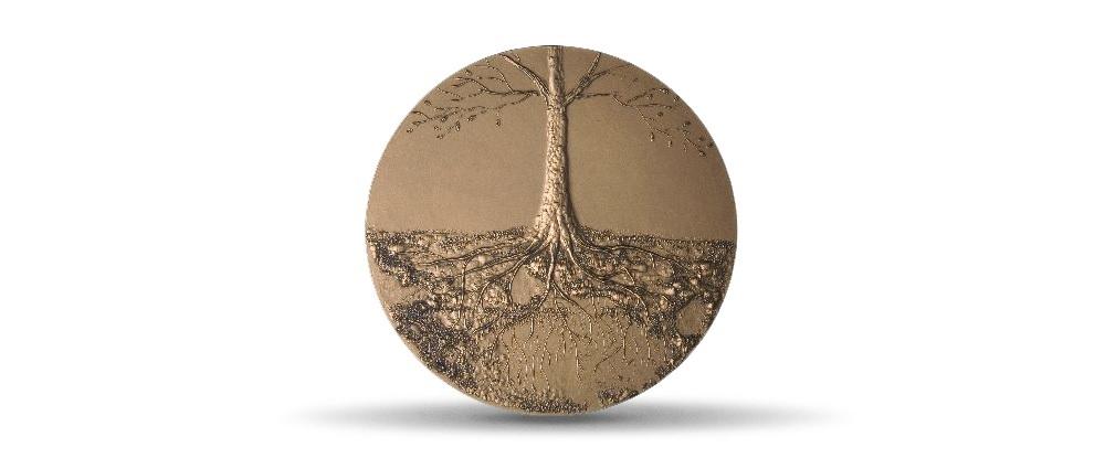 (FMED.Méd.MdP.CuZn.100111181800P0) Bronze medal - De l'arbre, by Gassier Reverse (zoom)