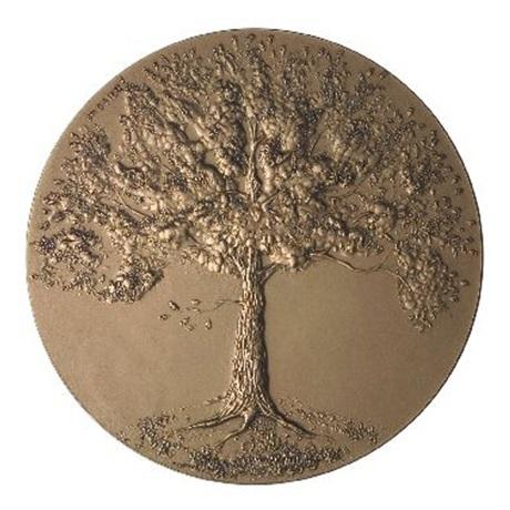(FMED.Méd.MdP.CuZn.100111181800P0) Médaille bronze - De l'arbre Avers